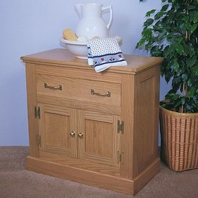 Woodworking Project Paper Plan to Build Oak Cabinet, Plan No. 755