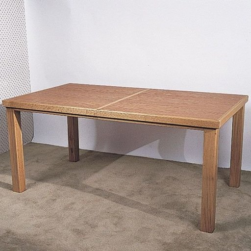 View a Larger Image of Woodworking Project Paper Plan to Build Oak Extension Table, Plan No. 764
