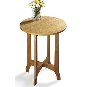 Woodworking Project Paper Plan to Build Occasional Table