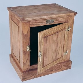 Woodworking Project Paper Plan to Build One-Door Ice Box, Plan No. 723