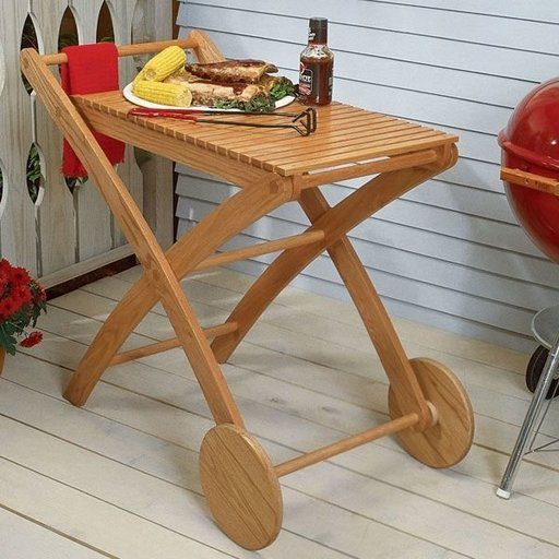View a Larger Image of Woodworking Project Paper Plan to Build Party-Time Cart