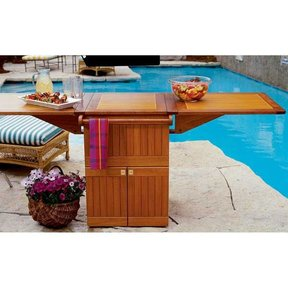 Woodworking Project Paper Plan to Build Patio Party Center