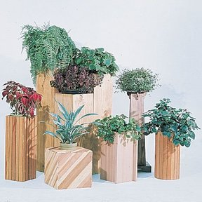 Woodworking Project Paper Plan to Build Plant Stands, Plan No. 579