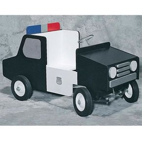 Woodworking Project Paper Plan to Build Police Pedal Car, Plan No. 895