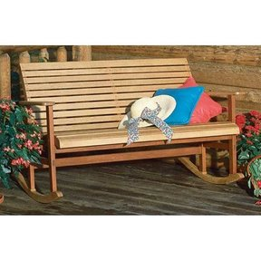 Woodworking Project Paper Plan to Build Porch Rocker