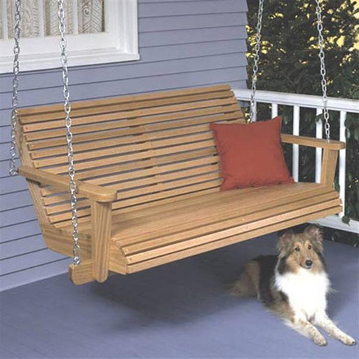 View a Larger Image of Woodworking Project Paper Plan to Build Porch Swing