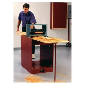 Woodworking Project Paper Plan to Build Portable Planer Thicknessing Center