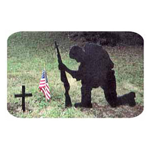 View a Larger Image of Woodworking Project Paper Plan to Build Praying Soldier Shadow