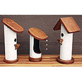Woodworking Project Paper Plan to Build PVC Bird Houses