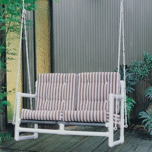 View a Larger Image of Woodworking Project Paper Plan to Build PVC Hanging Swing, Plan No. 742