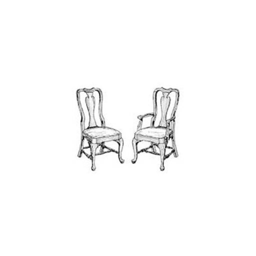 View a Larger Image of Woodworking Project Paper Plan to Build Queen Anne Chair