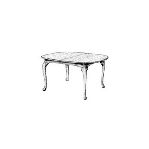 View a Larger Image of Woodworking Project Paper Plan to Build Queen Anne Dining Table
