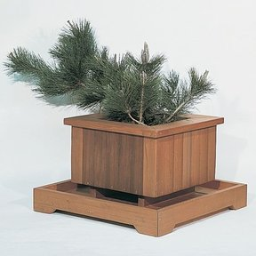 Woodworking Project Paper Plan to Build Redwood Planters, Plan No. 562