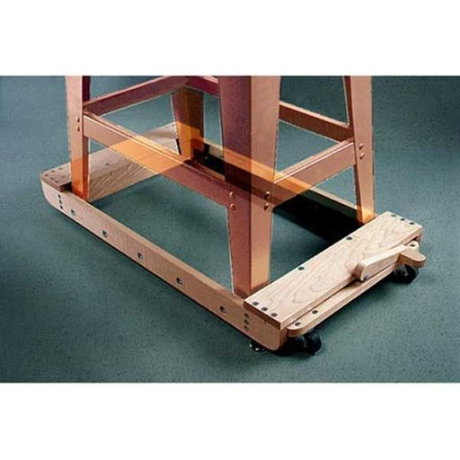 View a Larger Image of Woodworking Project Paper Plan to Build Roll-Around Tool Base