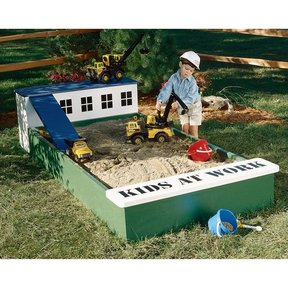 Woodworking Project Paper Plan to Build Sandbox