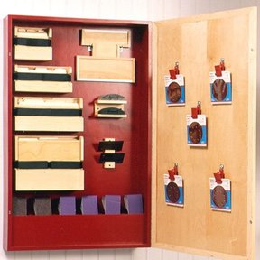 Woodworking Project Paper Plan to Build Sanding-Supply Cabinet