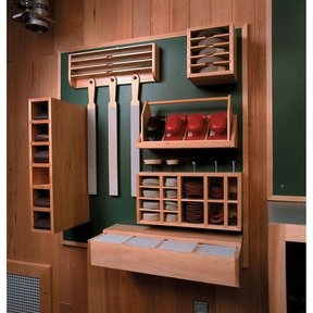 Woodworking Project Paper Plan to Build Sanding Supply Center