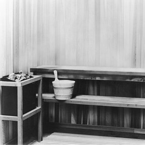 Woodworking Project Paper Plan to Build Sauna, Plan No. 563