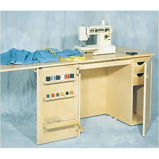 View a Larger Image of Woodworking Project Paper Plan to Build Sewing Cabinet, No. 887