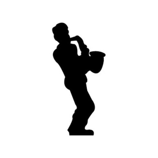 View a Larger Image of Woodworking Project Paper Plan to Build Saxophone Player Shadow
