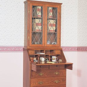 Woodworking Project Paper Plan to Build Secretary, Plan No. 683