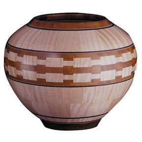 Woodworking Project Paper Plan to Build Segmented Lathe Bowl