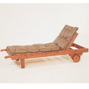 Woodworking Project Paper Plan to Build Sequoia Chaise, Plan No. 174