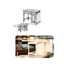 Woodworking Project Paper Plan to Build Sewing Desk