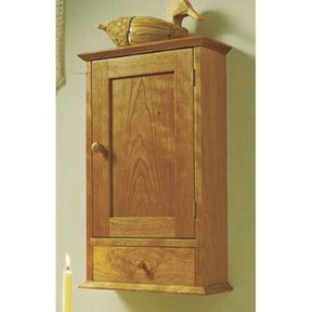 Woodworking Project Paper Plan to Build Shaker Cabinet