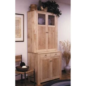 Woodworking Project Paper Plan to Build Shaker Cupboard