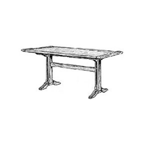 Woodworking Project Paper Plan to Build Shaker Dining Table