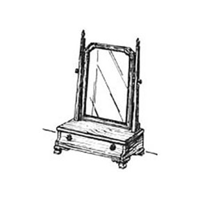 Woodworking Project Paper Plan to Build Shaving Mirror
