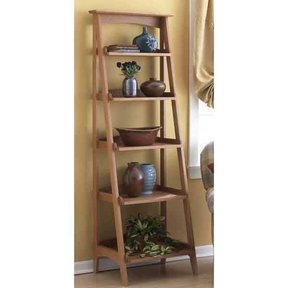 Woodworking Project Paper Plan to Build Shelves with a Fresh Slant