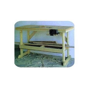 Woodworking Project Paper Plan to Build Simple Workbench, Plan No. 866