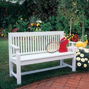 Woodworking Project Paper Plan to Build Sittin' Pretty Settee