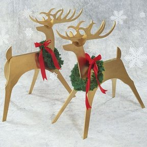 Woodworking Project Paper Plan to Build Sleek & Stylish Reindeer