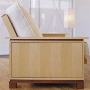 Woodworking Project Paper Plan to Build Sleeping Beauty Futon
