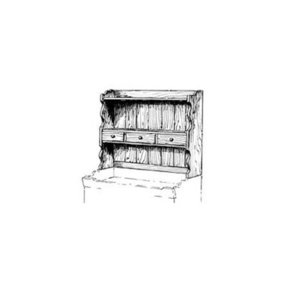 Woodworking Project Paper Plan to Build Small Hutch