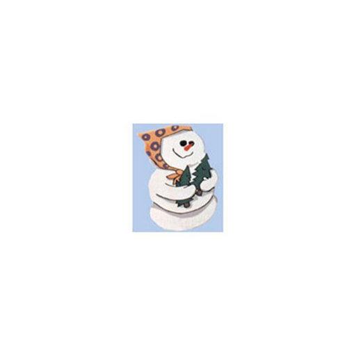 View a Larger Image of Woodworking Project Paper Plan to Build Snowlady
