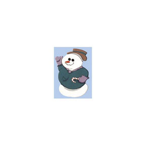 Woodworking Project Paper Plan to Build Snowman