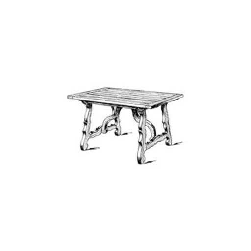 View a Larger Image of Woodworking Project Paper Plan to Build Spanish Dining Table