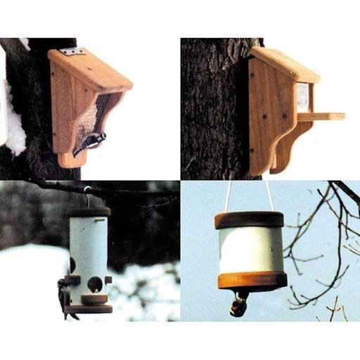 View a Larger Image of Woodworking Project Paper Plan to Build Suet and Squirrel Feeders