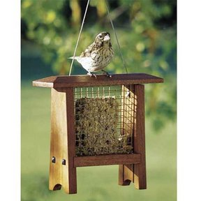 Woodworking Project Paper Plan to Build Suet Bird Feeder