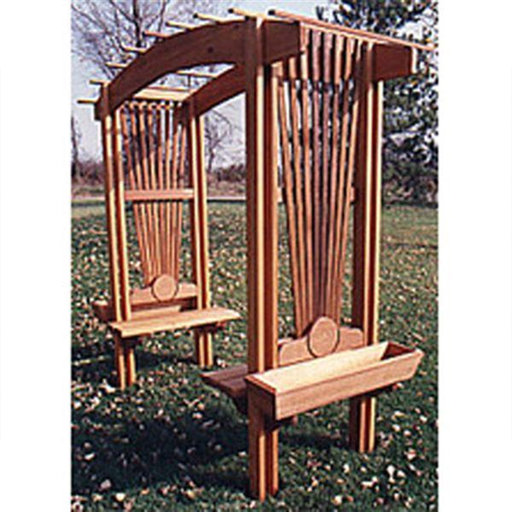 View a Larger Image of Woodworking Project Paper Plan to Build Sunburst Arbor
