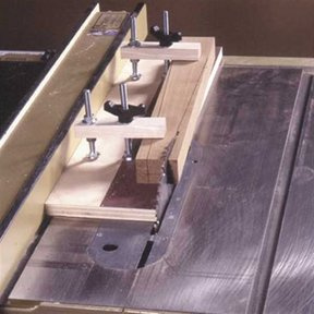 Woodworking Project Paper Plan to Build Super-Simple Taper Jig