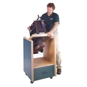 Woodworking Project Paper Plan to Build Swivel-Topped Tool Cabinet