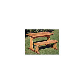 Woodworking Project Paper Plan to Build Table and Bench