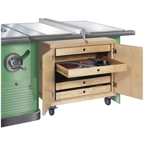 View a Larger Image of Woodworking Project Paper Plan to Build Tablesaw Accessories Cabinet