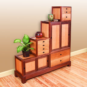 Woodworking Project Paper Plan to Build Tanzu Storage Chest