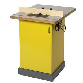 Woodworking Project Paper Plan to Build Tilt-Top Router Table
